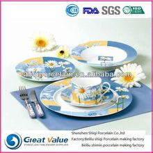 2015 new design porcelain circle thai homewares