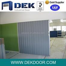 PVC folding door partition