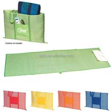 pp material handy mat/picnic mat/mat bag with zipper