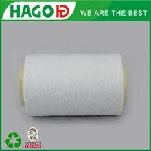 T/R 65/35 weaving blended yarn raw white