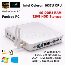 Mini pc without fan google xbmc tv box 4k resolution sex videos animal intel celeron 1037U processor