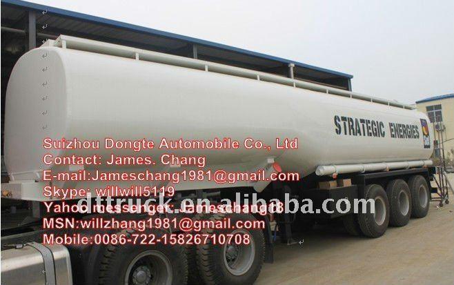 35000 litres réservoir de carburant remorque