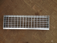 hot dipped galvanized different fixing type metal stair ST1-ST4