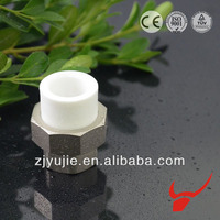 Factory price machine plastic ppr pipe bushing union for water meter