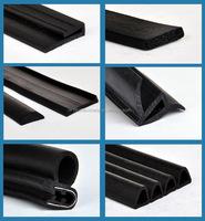 automotive door protective rubber seal