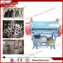 Sucata cabo wire stripper máquina sucata de cobre wire stripper máquina