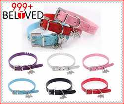 Comfortable and Soft Neoprene Padding Buckle Dog Collar contemporary waterproof led glowing dog collars
