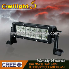 """Factory direct!!! 7.5"""" 36W 2900lm Off Road LED Driving Work Light, 4x4 ,SUV,ATV,4WD,LED Auxiliary Driving Lights"""