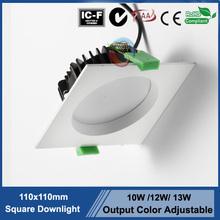 Australia lamp square downlight led 3000K/4000K/6000K IP44 led downlight accessories