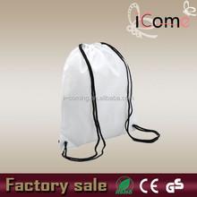 Cheap shoe bag,recycled polyester shoe bags,promo drawstring shoe bag(ITEM NO:D150246)