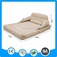 Twin Size PVC Flocked Inflatable Air Beds For Camping