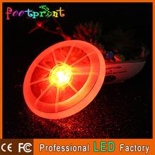 Hot Spin LED Light up flying saucer disc