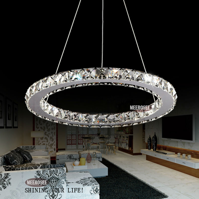 nouveau mod le 2014 led 1 cercle lampe lustre en cristal de lampe pendante md8825. Black Bedroom Furniture Sets. Home Design Ideas