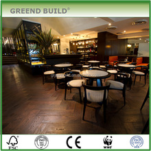 Hardwood flooring, Class B1 Fire resistant flooring for hotel