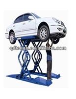 Scissor Hydraulic Portable Car Washing Lift/ Portable Car Repairing Hoist