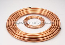 China manufactured C1050 copper pipe flared fittings