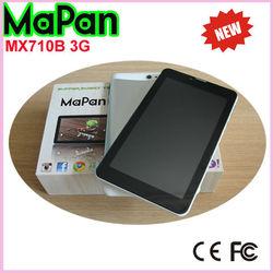 3G wifi dual SIM card android phone/New MaPan wifi tablet phone 3G 7''