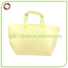 new product eco non woven bag with hard bottom insert