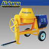 China top quality Skid Steer Attachments Concrete Mixer, double- drum concrete mixer, concrete mixer home