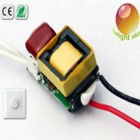 led drivers 12v 3w 300mA Triac dimmable constant current