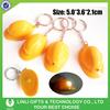 Promotional Mini Helmet Led Key Chain, Plasitc Helmet Led Keychain