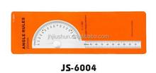 100 mm angolo righello in alluminio con goniometro