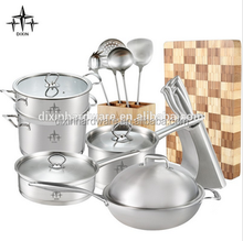 16pcs italian stainless steel cookware set/DX-A01