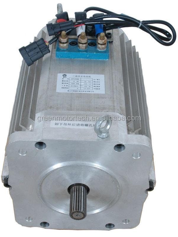 96v 10kw 4500rpm Asynchronous Motor Three Phase Brushless