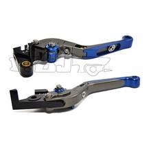 BJ-LS-001 OEM aluminum CNC adjustable folding bajaj brake lever for dirt bike