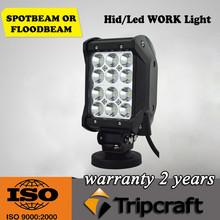 36W 4 inch quad row car led light bar 12v