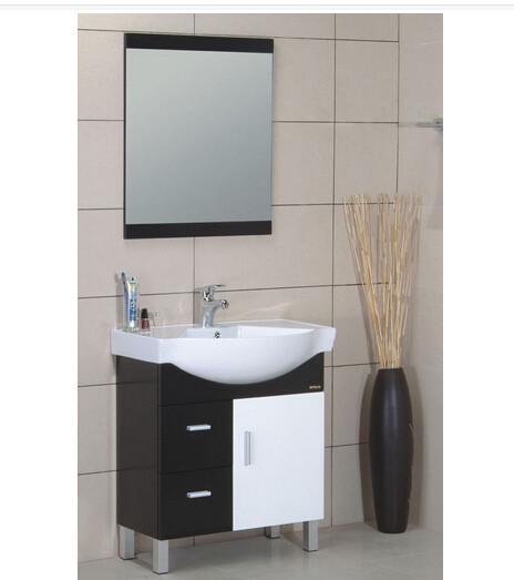 2015 Double Basin Modern Bathroom Vanity Mdf Bathroom Cabinet Bathroom Furnit