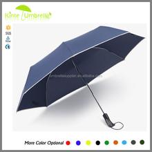 New Folding Princess Dome Parasol Polyester Sun / Rain Umbrella Super Flat Folding Umbrella