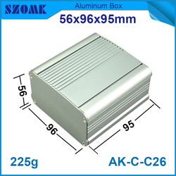 china supplier aluminium enclosure IP54 waterproof aluminum electrical junction box