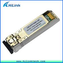 Single-Mode Optical Transceiver 1470nm~1610nm 10G 80km CWDM SFP+ for Network Router