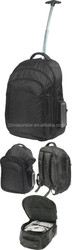 1680D polyester multi-fuction executive trolley laptop backpack