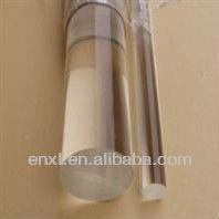 De plástico transparente de la barra de pc, de policarbonato transparente de varillas de plástico, de plástico