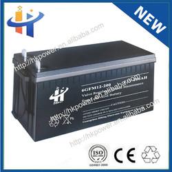 2014 New Products 200ah 12 volt lead acid battery