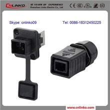 Made in china para mujer usb a ethernet RJ45 macho conector del Cable RJ45
