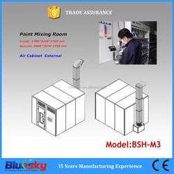 BSH-M3 High quality price car paint booth /car paint shop/car paint mixing room(CE, ISO approved)