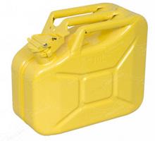 Fabricante de la otan de metal 10l bidones/garrafas- amarillo