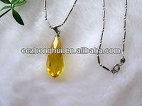 Splendid crystal pendant