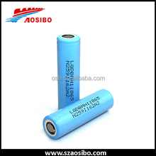 cheaper shipping of brand lg mh118650-- LG li-ion battery high discharge 3200mah lg 3.7v aa 10a li-ion battery with best selling