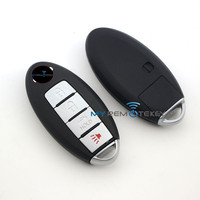 Smart remote key case 3 button with panic Altima CWTWBU729 for Nissan key shell