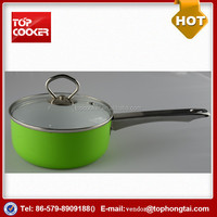 Aluminum Ceramic Induction Stainless Steel Handle Sauce Pot
