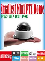 ANC-3420MB mini dome camera waterproof IP66 security PTZ dome IP camera
