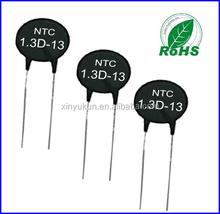 Alta temperatura MF72 termistor NTC 13 ohm 1.3D - 13