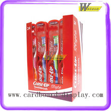 Toothbrush PDQ Box Custom Cardboard Shoppe Display