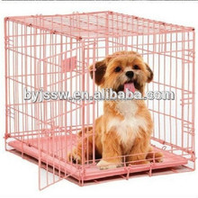Pretty Convenient Stainless Steel Dog Cage