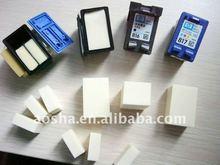 Venda quente jato de tinta cartucho de espuma esponjas para HP56 ( C6656A ) remanufatura cartuchos