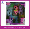 New Design Lovely Fashion Vinyl Toy Pony Horse Doll w/Light N Music